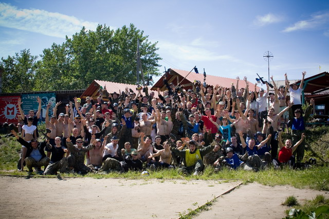 Пейнтбол в красноярске - пейнтбольный клуб и центр активного отдыха цитадель